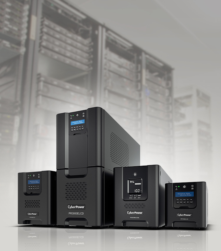 CyberPower's Professional UPS features Automatic Voltage Regulation to stabilize the AC power output