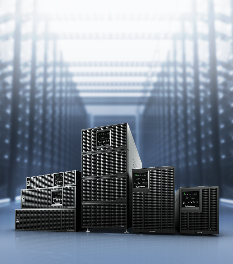 CyberPower's Online UPS provides perfect power protection with seamless pure sine wave output