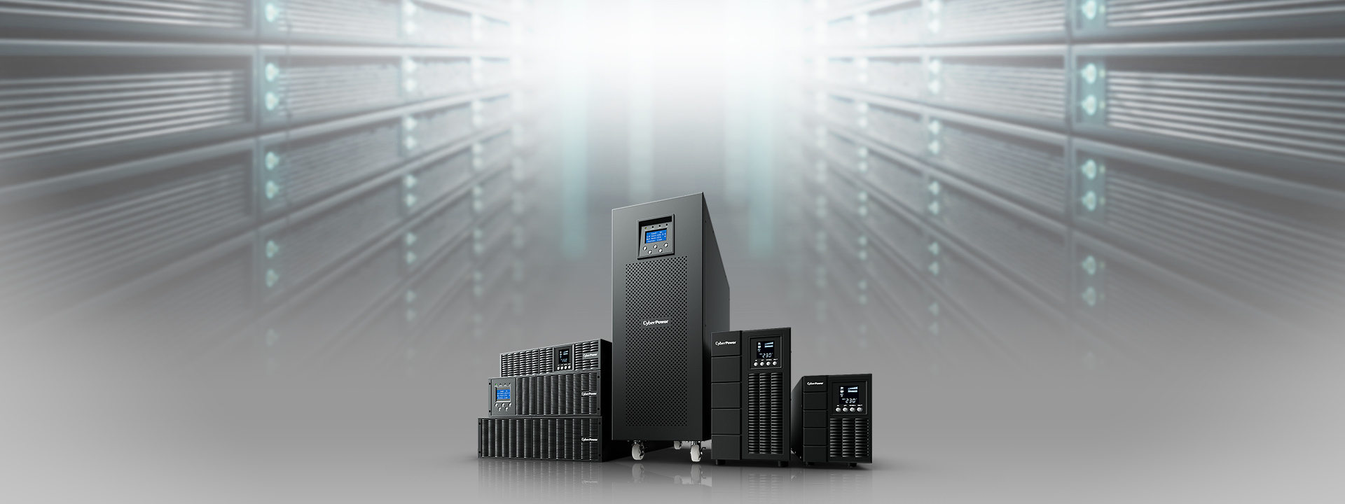 CyberPower's Online S UPS provides perfect power protection with seamless pure sine wave output