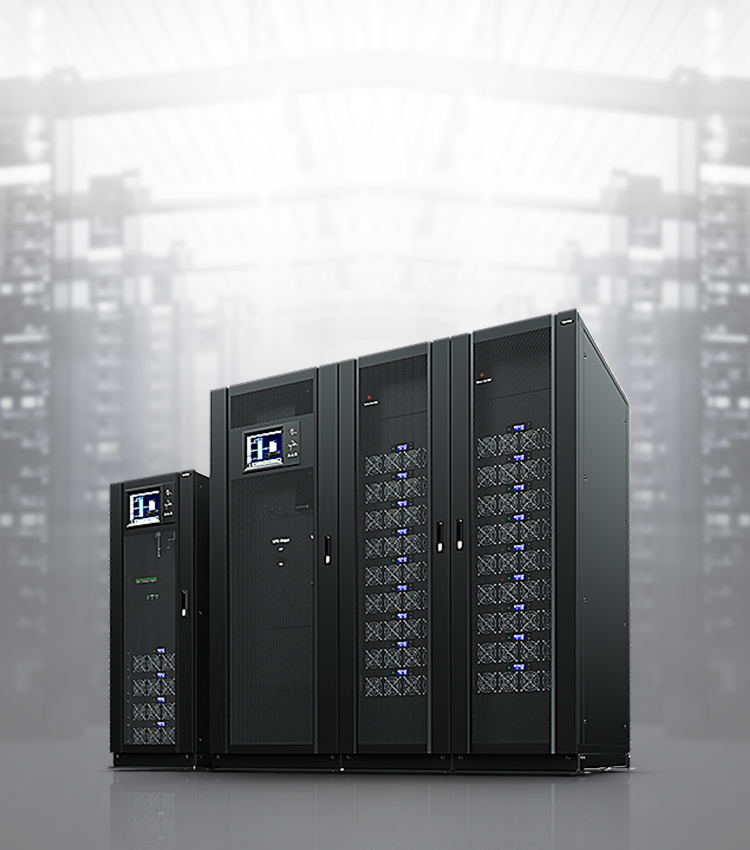 CyberPower's 3-Phase UPS achieves N+X power redundancy for mission-critical applications