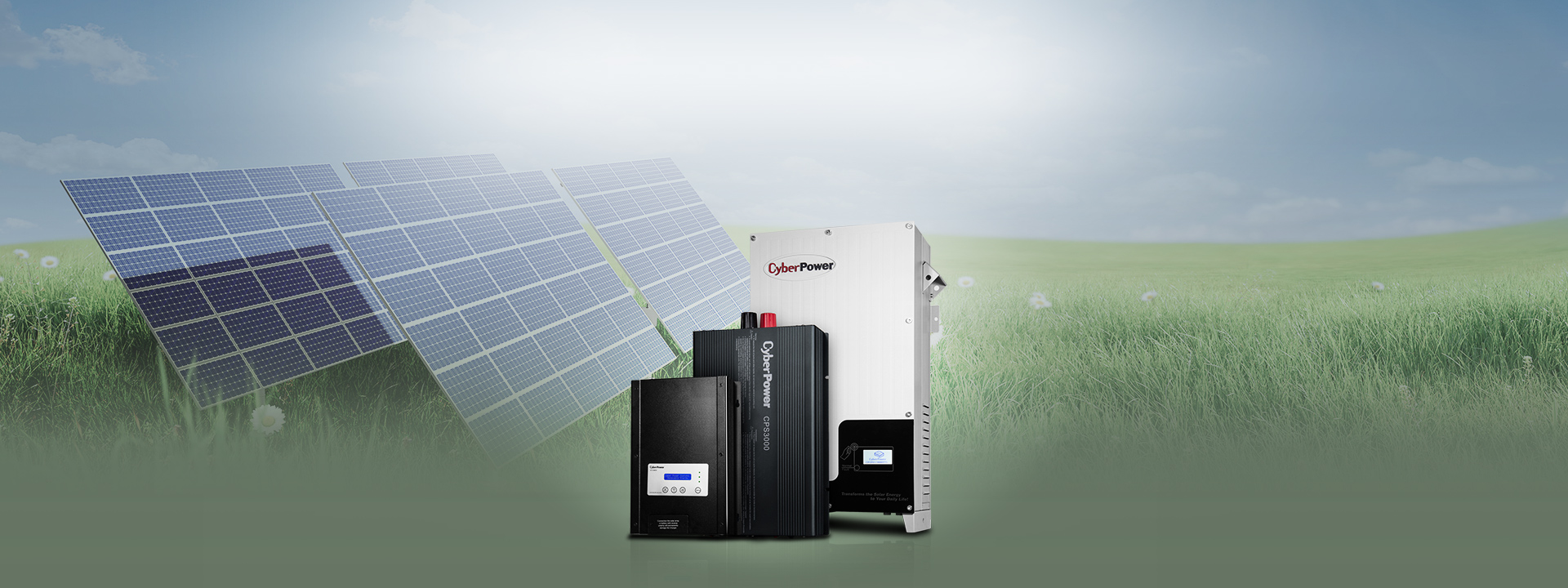 CyberPower's Solar Power System is the perfect renewable solar power solution with MPPT techology for immediate use